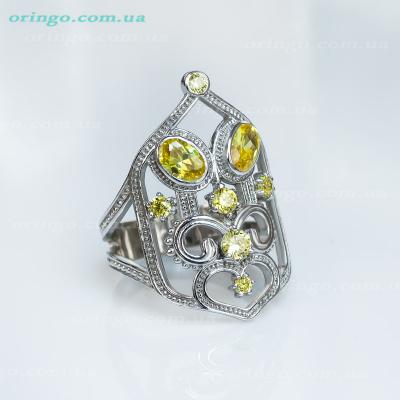 Кольцо из , Без покрытия,  (Золотистый), Желтый, , стиль - Этника, артикул - К 632