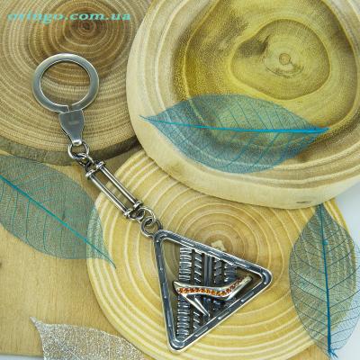 Брелок из , Оксидирование,  (Оранжевый), Оранжевый, , стиль - Авангард, артикул - Ч 063 о ВН