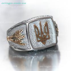 Перстень из , Комбинированное 10,  (Без Вставок), Без цвета, , стиль - Родное, артикул - К 486 к10