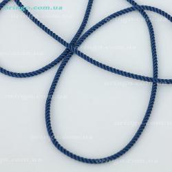 Шнурок из , Без покрытия,  (Синий), Синий, , стиль - Классика, артикул - Ш 025_1